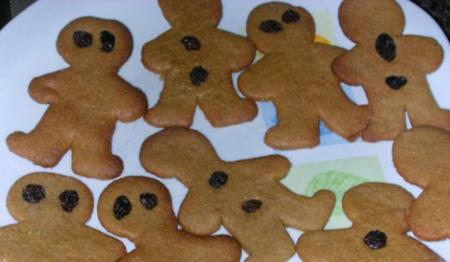galetes de gingebre